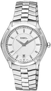 エベル Ebel Men's 9955Q41/163450 Classic Sport Silver Dial Watch 男性 メンズ 腕時計 【並行輸入品】