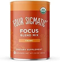 FOUR SIGMATIC Organic Think Focus Blend Mix, 2.12 OZ