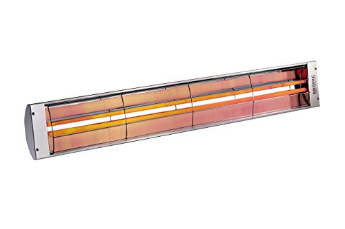 Bromic Heating BR-ECB40 220-240V 4000W Stainless Steel Cobalt Electric Radiant Patio Heater