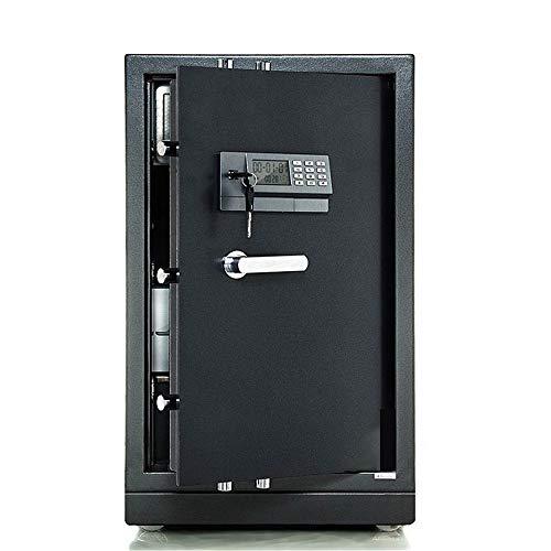 TYJKL Caja Fuerte Caja de Seguridad electrónica Digital, gabinete para el hogar Seguro con Llaves y Bloqueo Digital para Joyas de Dinero en Efectivo de Dinero almacenar Documentos Importantes