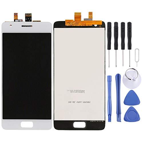 FXH Menos Costo Pantalla LCD y digitalizador Asamblea Completa for Lenovo ZUK Z2 taizhan (Blanco) Pero una solución efectiva (Color : White)