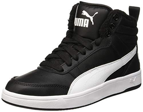 Puma Herren Rebound Street V2 FUR Hohe Sneaker, Schwarz Black White 05, 45 EU