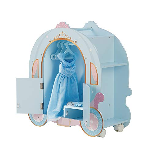 Olivia's Little World TD-12948A Pumpkin Carriage poppenwagen, blauw
