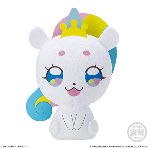 Star Twinkle Precure Fluffy Mascot & Shiny Twinkle Le Pen Set [1. Fuwa Power Up Ver.] / miniature mascot toy