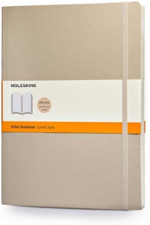Moleskine Classic ColGoldt Notebook, Extra Large, Ruled, Khaki Beige, Soft Soft Soft Cover (7.5 x 10) by Moleskine(2014-02-18) B00M0K5NMS | Produktqualität  e989d9