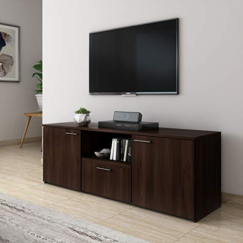 Amazon Brand - Solimo Fiesta Engineered Wood TV Cabinet (Brown , Oak )