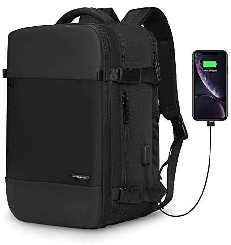 Travel Laptop Backpack,MARK RYDEN Business Carry On Bag With Shoe Compartment USB Charging Port fit 15.6 Laptop,School Sports Backpack