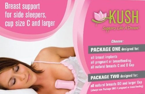 KUSH Pink Breast Supports