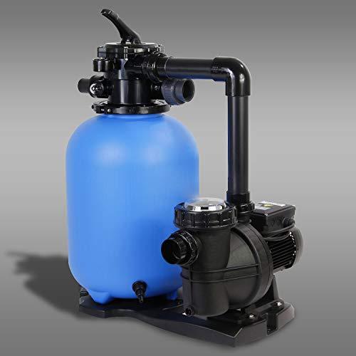Paradies Pool Filteranlage PP Spezial 350/NOX 33-8M, vormontiert, selbstansaugend, 6-Wege-Ventil, ESPA