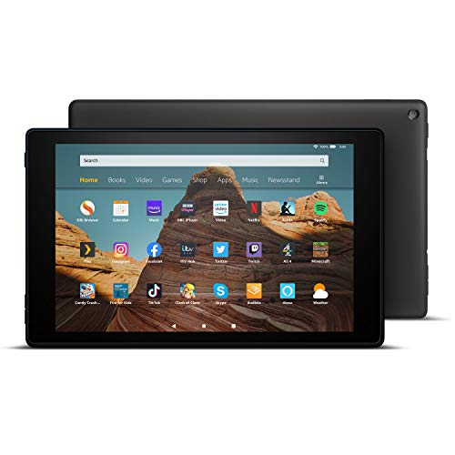 All-new Fire HD 10 Tablet | 10.1' 1080p Full HD display, 32 GB, Black with...