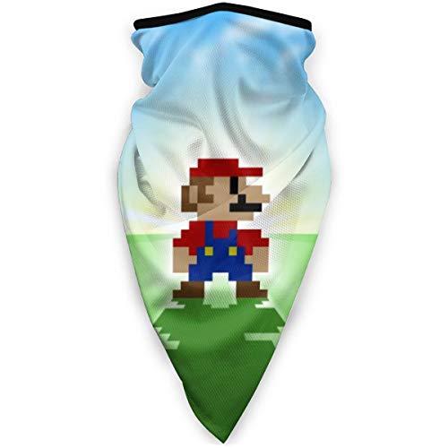 Yellowbiubiubiu Game Super Mario Maske Stirnband Bandana – Outdoor Kopfbedeckung, Schal Bandana, breit, Headwrap Balaclava Tube Multifunktional