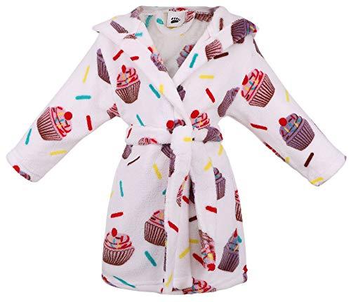 Arctic Paw Kids Girls Children Animal Theme Pool Cover ups,Cupcakes,M