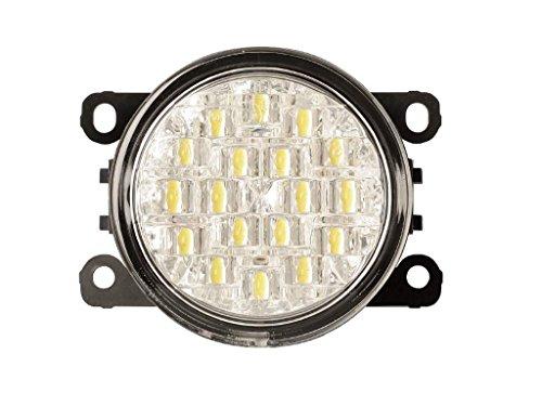 Euralight LED Tagfahrlicht mit Dimmfunktion 90mm mit E-Prüfzeichen eintragungsfrei.