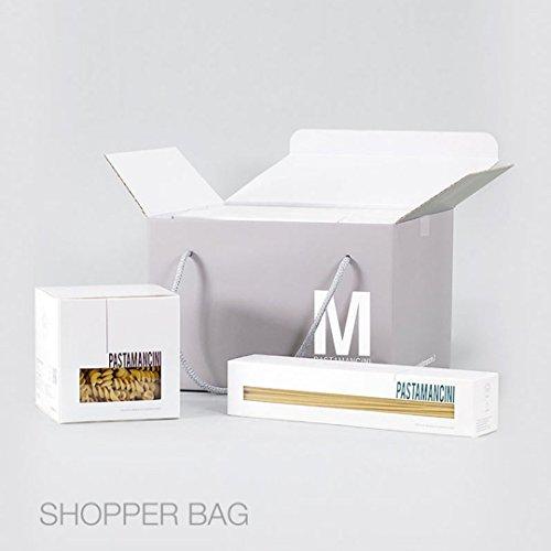 Pasta Mancini - SHOPPER BAG - Confezione regalo contenente 8 Confezioni In Scatola da 500 gr In Vari Formati