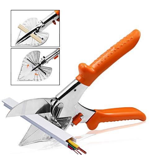 Cutting tools, Multi Angle Miter Shear Cutter Cuts 45 to 135 Degree Miter Snips Cutting Tool ,Best Utility scissors (Miter shears)