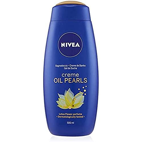 NIVEA Creme Oil Pearls Flor de Loto Gel de Ducha Hidratante - 500 ml