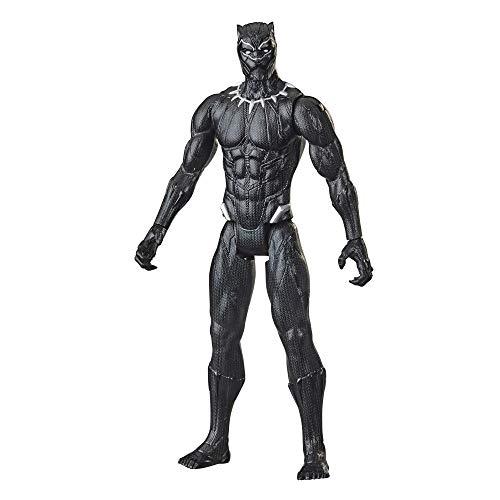 Boneco Marvel Avengers Titan Hero, Figura de 30 cm Vingadores - Pantera Negra - F2155 - Hasbro