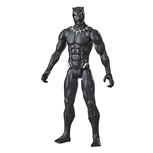 Marvel Avengers Titan Hero Series Collectible 30 cm Black Panther Action Figure, giocattolo per bambini dai 4 anni in su