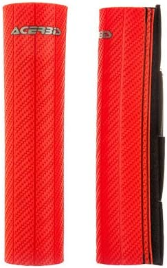 Acerbis Upper Don't miss the campaign Fork Guards Red YZ250 Yamaha for Popular shop is the lowest price challenge 1974-2018