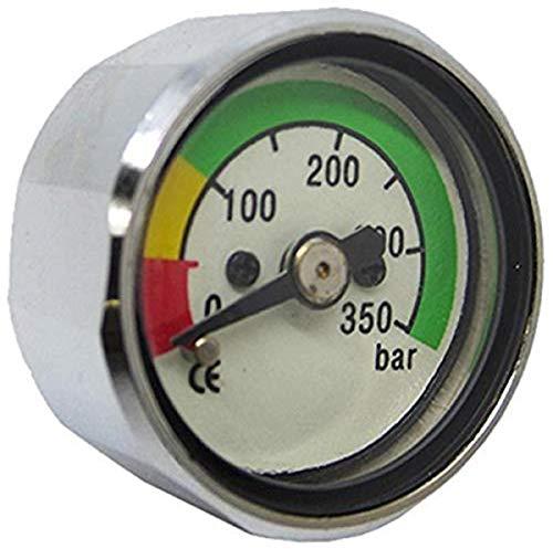 Scuba Wahl scap-0018Tauchen Pony Flasche Manometer mit 350bar–Weiß, Eine Größe