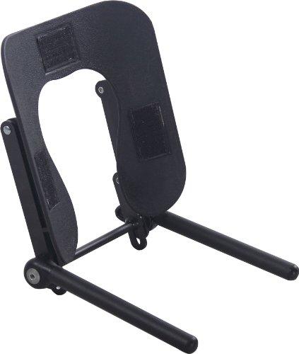SierraComfort Ergonomic Face Cradle for Portable Massage Table with Adjustable Tilt, Black