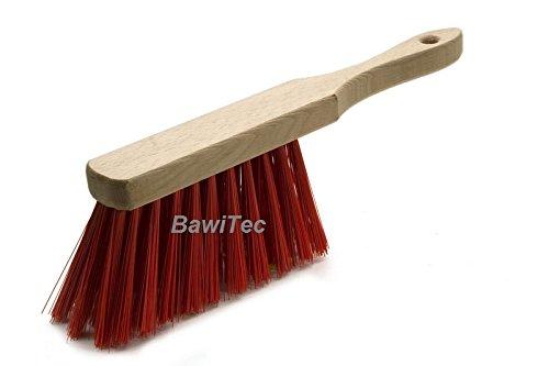 BawiTec Profi Handfeger Handbesen 28cm Elaston rot Eralon-Kunststoff
