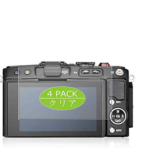 4枚 VacFun フィルム , オリンパス OLYMPUS PEN E-PL6 向けの 保護フィルム 液晶保護 フィルム 保護フィルム(非 ガラスフィルム 強化ガラス ガラス )