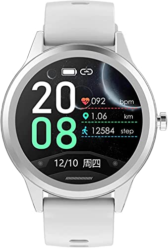 Reloj inteligente para hombres y mujeres, rastreador de actividad 1 28, pantalla táctil, reloj de fitness, monitor de ritmo cardíaco, IP67