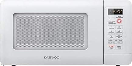 Daewoo KOR-5A0B - Microondas (Encimera, Solo microondas, 15 L, 500 W, Giratorio, Blanco)