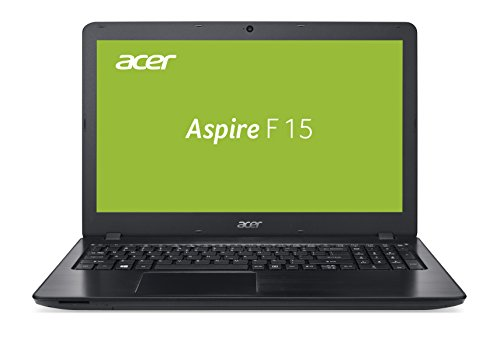 Acer Aspire F 15 39,62 cm (15,6 Zoll Full-HD matt) Laptop (Intel Core i7-7500U, 8GB RAM, 128GB + 1.000GB HDD, GeForce GTX 950M, Win 10 Home) schwarz