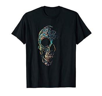 Vintage Sugar Antique Skull Day of The Dead T-Shirt