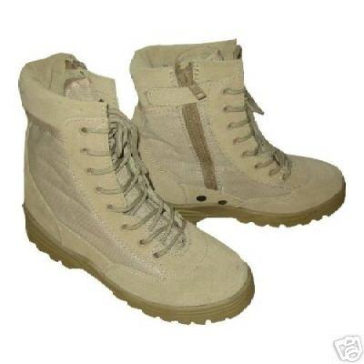 US Army Patriot Desert Storm Combat Boots sand 42