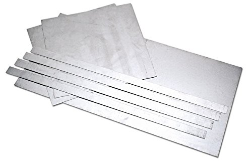 Eastwood 7 Pieces 20-Gauge Auto Body Repair Patch Panels Kit 20 Gauge Aluminized Steel Sheet Metal Corrosion-Resistant