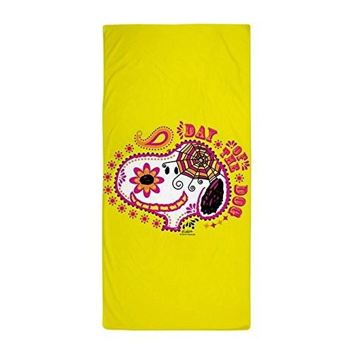 CafePress Handtuch–Peanuts Snoopy Tag der Hund Snoopy Face Strand Handtuch–Weiß