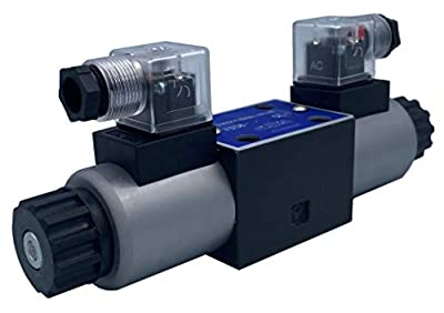 Hydraulic Directional Control Valve D03 Cetop 3 NG6 3 postion 4 way 12VDC 24VDC 110VAC 220VAC (12VDC, T Spool) from Fluidhaus