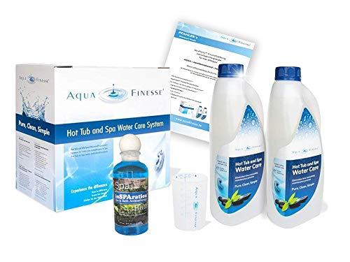 AquaFinesse mit Chlortabletten + Whirlpoolduft und ausführliche Wasserpflegeanleitung GRATIS | Kostenlose Whirlpool-Wasserpflege Beratung