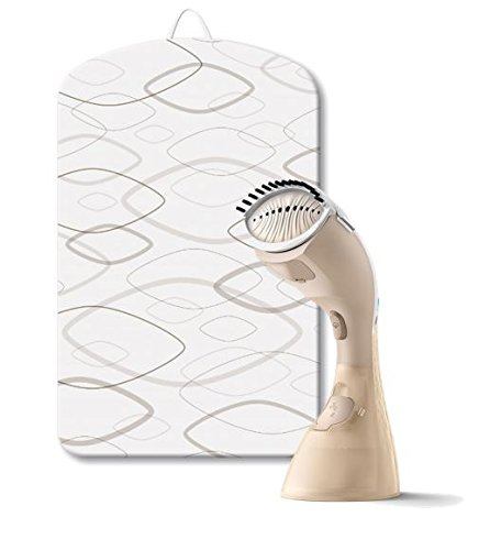 Philips - GC442/67 Sistema de planchado a vapor manual StyleTouch Pure 2 en 1, planchado horizontal y vertical, tecnología PureSteam, sistema antical, soporte semirrígido StyleMat incluido, dorado: Amazon.es: Hogar
