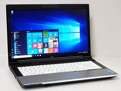 【Micro office2019セット・SSD搭載】富士通 大画面17.3型LIFEBOOK N532/E Windows10Pro Core i5第3世代3320M-2.6Ghz メモリ8GB SSD240GB+HDD500GB DVD 無線LAN HDMI USB3.0 SDカードスロット 10キー付日本語キーボード 17.3型HD+液晶中古ノートパソコン (メモリ8GB・Officeセット・SSD)