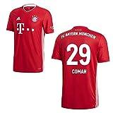 adidas FCB FC Bayern München Trikot Home Heimtrikot 2020 2021 Kinder Coman 29 Gr 140