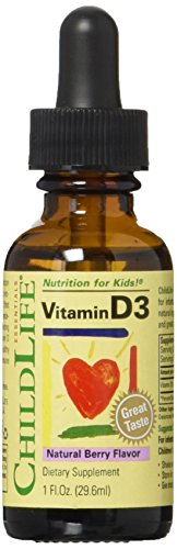 ChildLife - Vitamin D3 Mixed Berry 1 oz