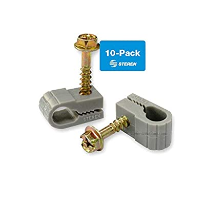 Steren Cable Clips 100 count