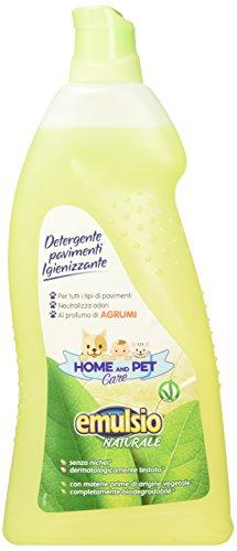 Emulsio Naturale 0268013 Home And Pet Care Detergente Pavimenti Igienizzante Agrumi, 1000 ml