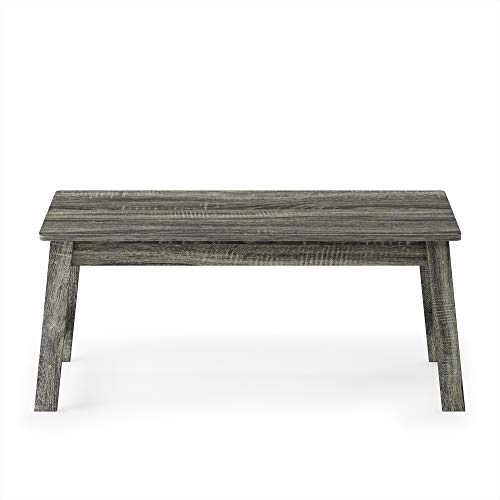 Furinno Beginning Coffee Table, French Oak Grey
