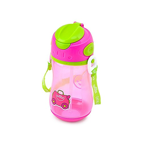 Trunki - Cantimplora colgante, color rosa