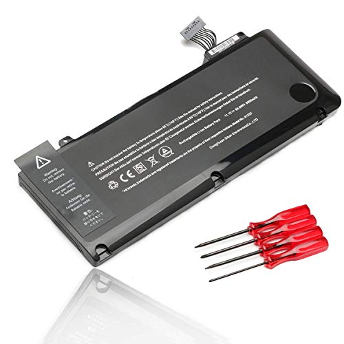 A1322 A1278 Laptop Battery for MacBook Pro 13 inch (Mid 2009 Mid 2010 Early and Late 2011 Mid 2012 Version),661-5229 661-5557 MC374LL/A MB990LL/A MB991LL/A MD101LL/A MD102LL/A MC700LL/A MD313LL/A