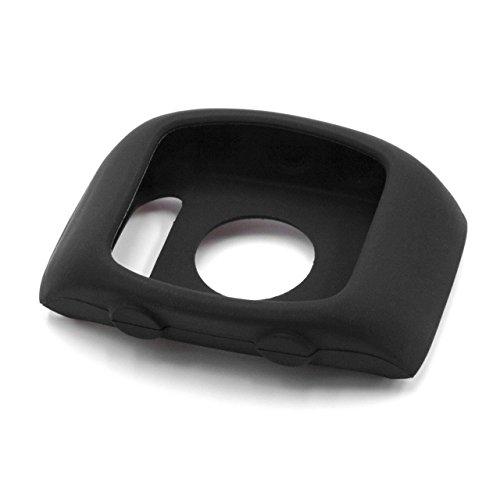 vhbw Hülle Cover passend für Polar M400, M430 Smartwatch - schwarz, Silikon