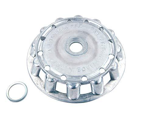 Ratioparts Fadenkopf Metall MF 2-12, Durchmesser Faden 4 mm, Aluminium Fadenschneider, grün