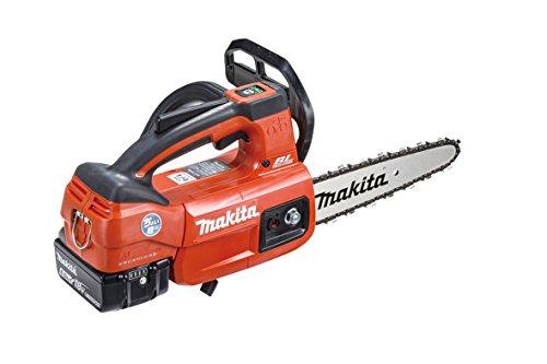 マキタ充電式チェンソーガイドバー200mm赤18V6Ahバッテリ2本・充電器付MUC204CDGR