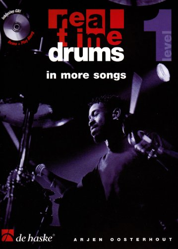 Real Time Drums in More Songs, m. Audio-CD