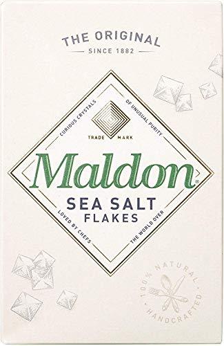 Maldon Escamas De Sal De Mar (250g) (Paquete de 6)